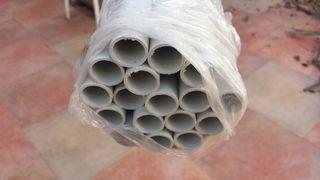 105 m tubo PVC rígido 20 diámetro