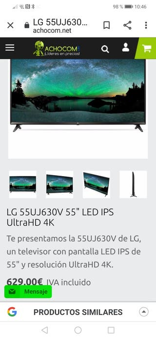 LG Nueva 4K Smart