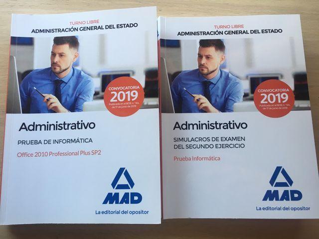 Administrativo simulacros informática MAD