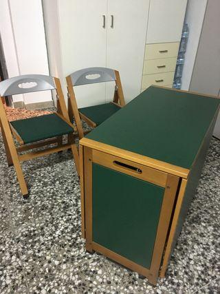 Mesa plegable de diseño