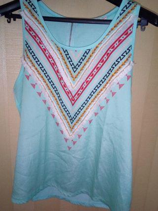 Camiseta de tirantes de mujer.Talla M/L