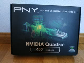 PNY nVIDIA Quadro 600 1Gb GDDR3
