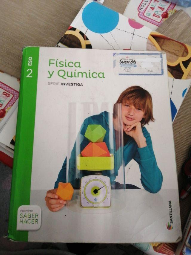 libro física y química 2do eso