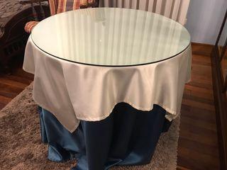 Mesa camilla de 80 cm de diámetro