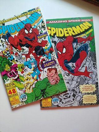 Spiderman 276 y 277 (Forum)