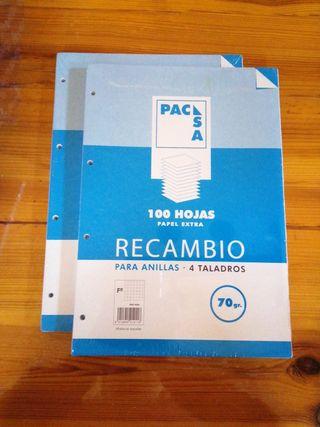 RECAMBIO ARCHIVADOR A4