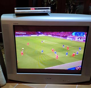 Television Sony Trinitron 25¨ 100 HZ y TDT