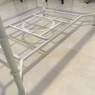 Mesas camilla doble altura forja ref 1150