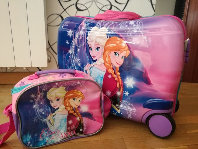 maleta correpasillos dura frozen