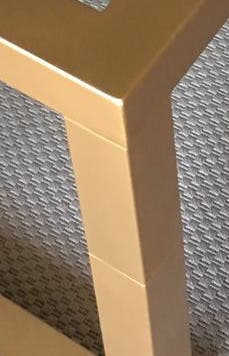 Mesas camilla doble altura forja ref 75
