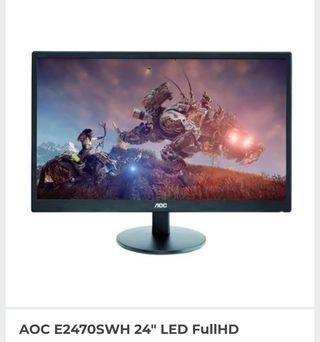 """Monitor AOC 24"""" LED FULLHD"""