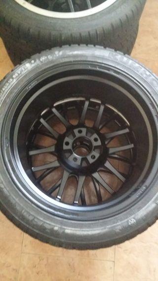 4 ruedas completas 18 pulgadas