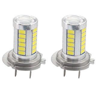 2 Bombillas LED 6500K H7 para Coche