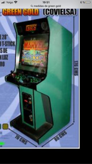 Green Gold recreativa Arcade