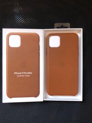 Funda de piel iPhone 11 pro Max
