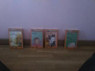 libros de la colección del barco de vapor
