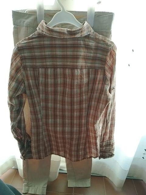 pantalon de vestir+camisa. mujer.