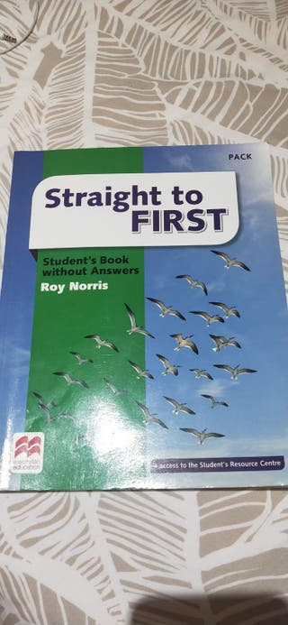 Libro Inglés, Straight to FIRST