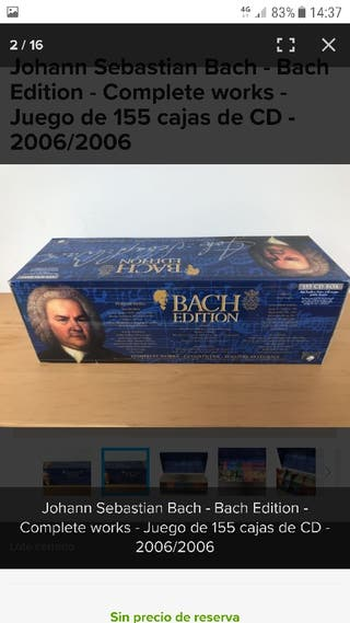 Bach Complete Collection Box 155 cd