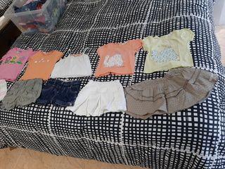 Lote ropa verano 1 año