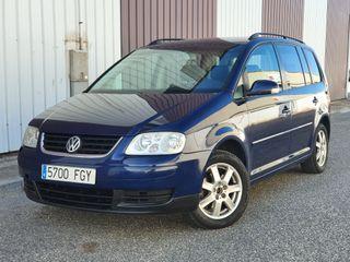 Volkswagen Touran 1.9 TDI 105CV 6 VELOCIDADES 7 PLAZAS MUY BUEN ESTADO