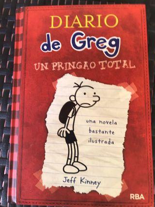 Libro el diario de greg