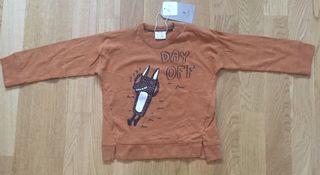 Camiseta manga larga bebe