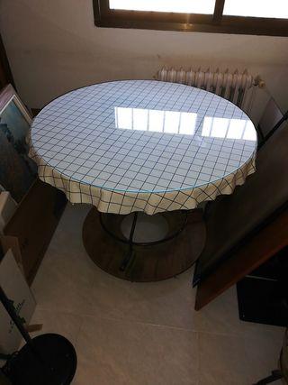 Mesa camilla antigua