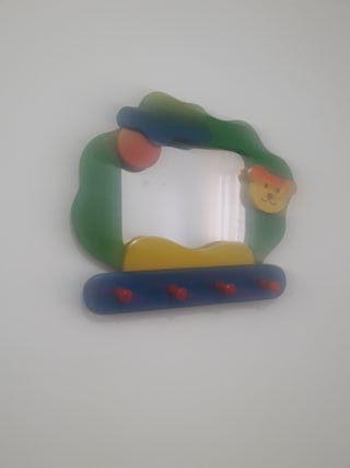Percha-espejo