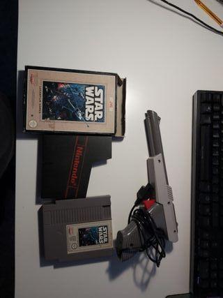 NES Star Wars + mando pistola