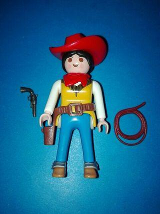 playmobil mujer vaquera oeste rancho sudista