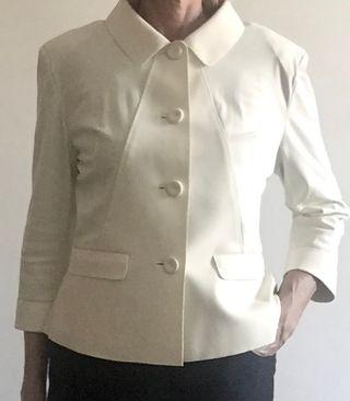 veste IRIÉ WASH blanc cassé taille L (40-42)