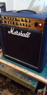 amplificador de guitarra marhall 30 aniversario