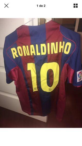 Camiseta Oficial Ronaldinho FCB