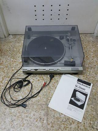Tocadiscos Technics SL-D500