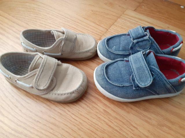 lote zapatos número 21