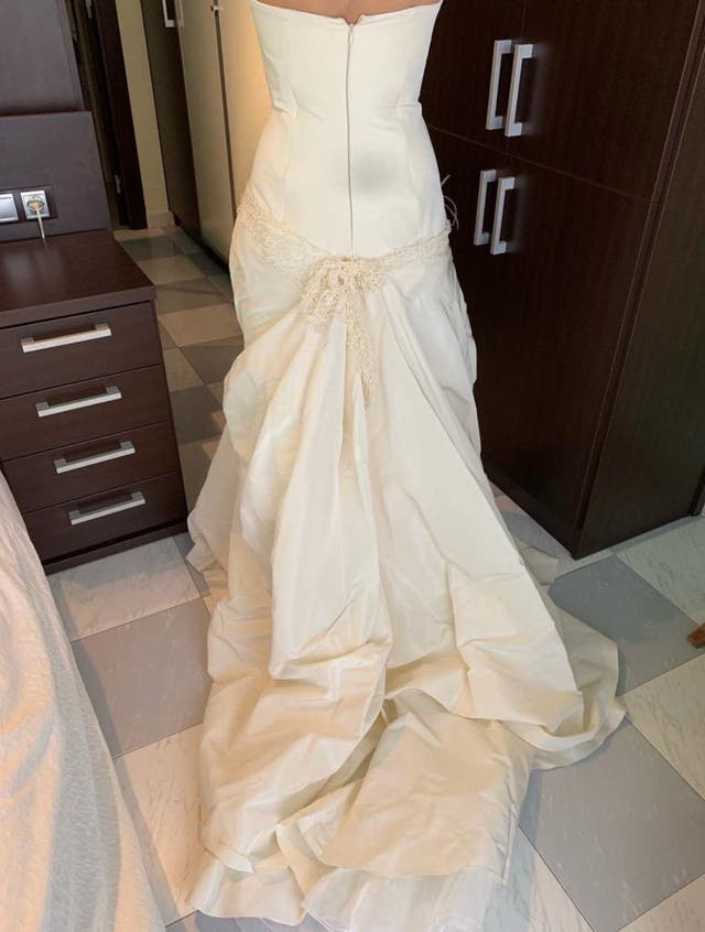 Vestido Novia Yolan Cris