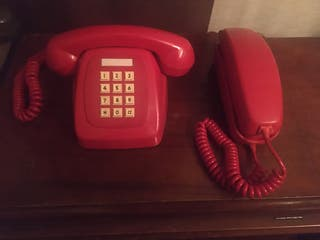 Lote 2 teléfonos antiguos