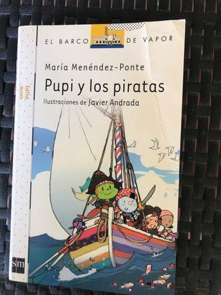 Libro pupi y los piratas
