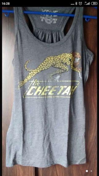 Camiseta tirantes The Cheetah