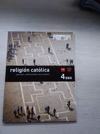 libro de religión 4° ESO SM proyecto Ágora