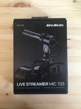 Micrófono Video AverMedia Mic133