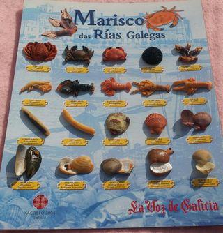 Marisco Das Rías Galegas, Colección Completa
