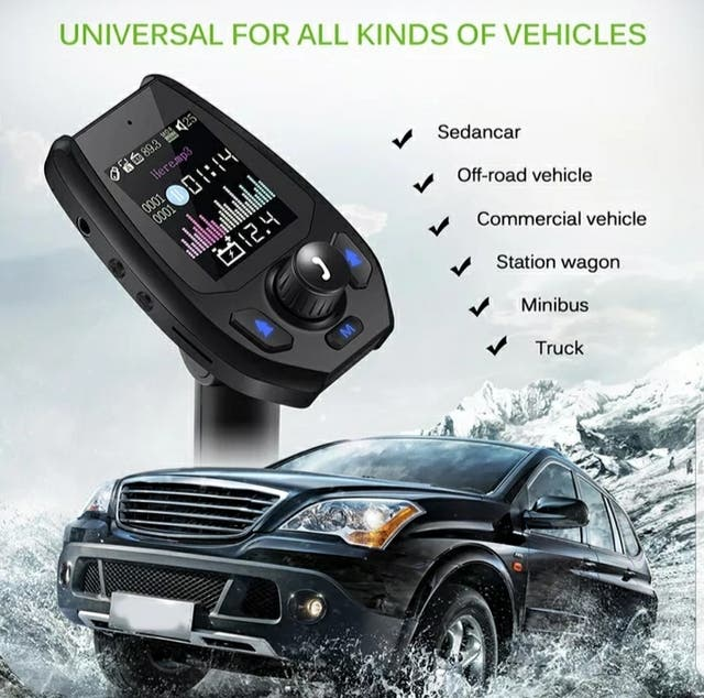 Kit Mp3 Player Coche con Pantalla, Bluetooth, USB