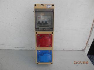 CUADRO ELECTRICO TRIFASICO-MONOFASICO 125