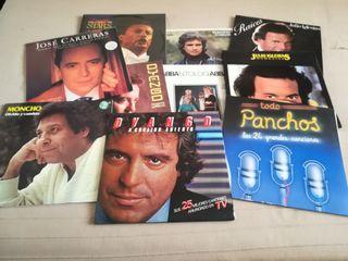 Lote 10 discos artistas variados