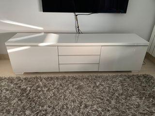Mueble TV - Aparador lacado blanco MUY BUEN ESTADO