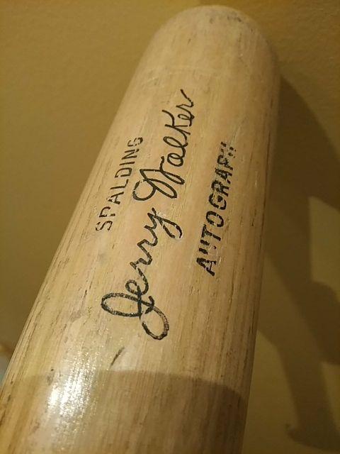 Bate béisbol baseball Spalding Jerry Walker