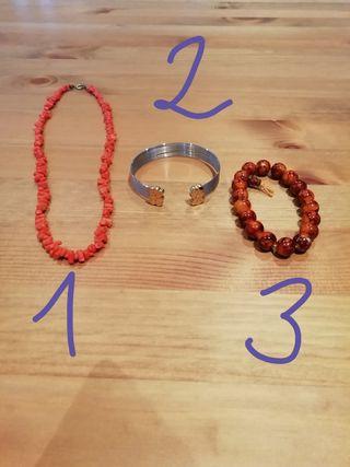 PACK pulseras + collar