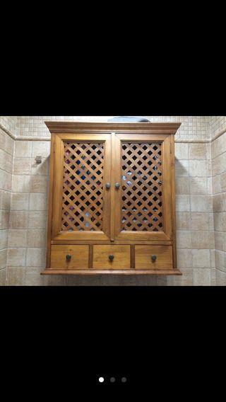 Mueble baño pared